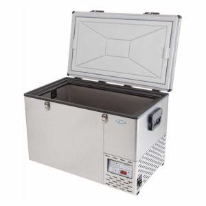 NL 80 Stainless Steel Refrigerator & Freezer