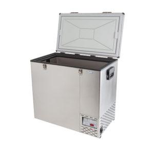 NL 125 Stainless Steel Refrigerator & Freezer