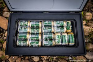 single compartment camping fridge
